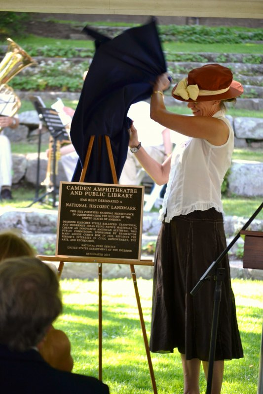National Historic Landmark sign unveiling July 2013,By Scott Anthony Smith