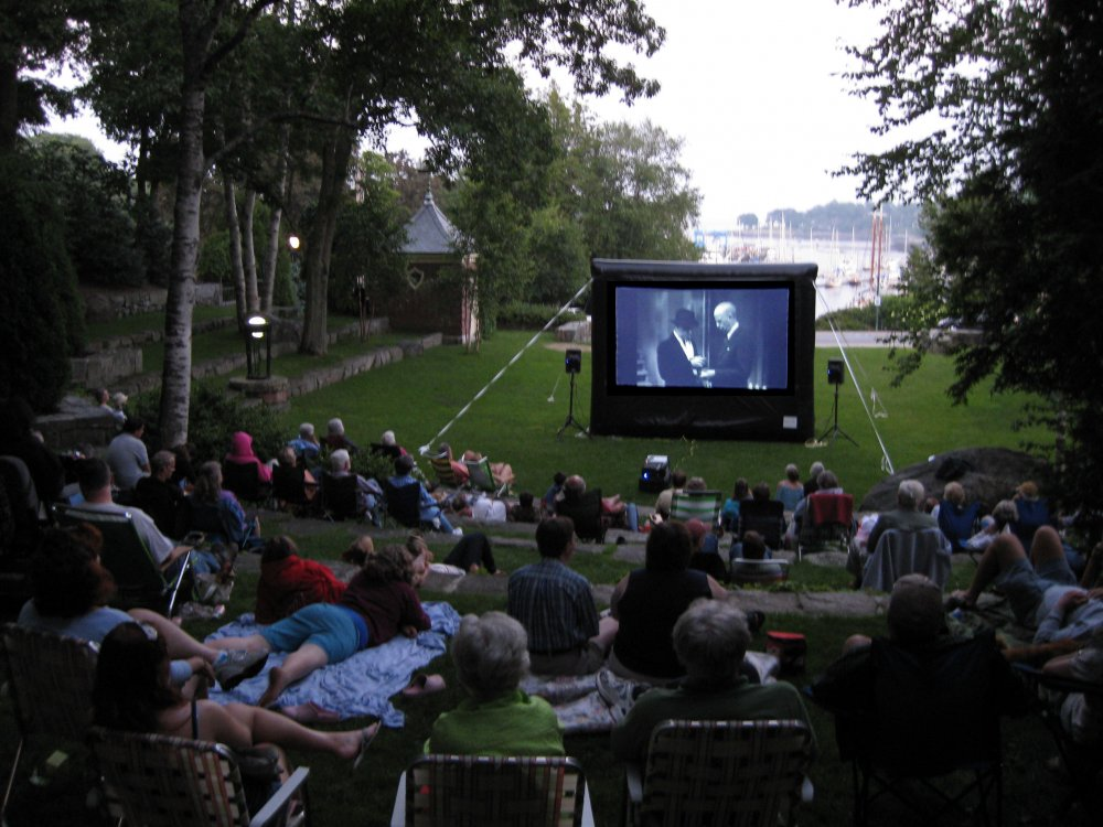 Movies in the Amphitheatre