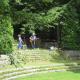 Amphitheatre stage steps