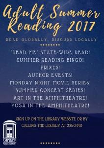Adult Summer Reading 2017
