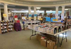 Summer Book Sale in the Rotunda