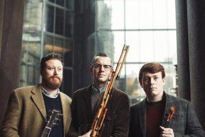 Daymark Irish Trio in the Amphitheatre Thursday 8/16