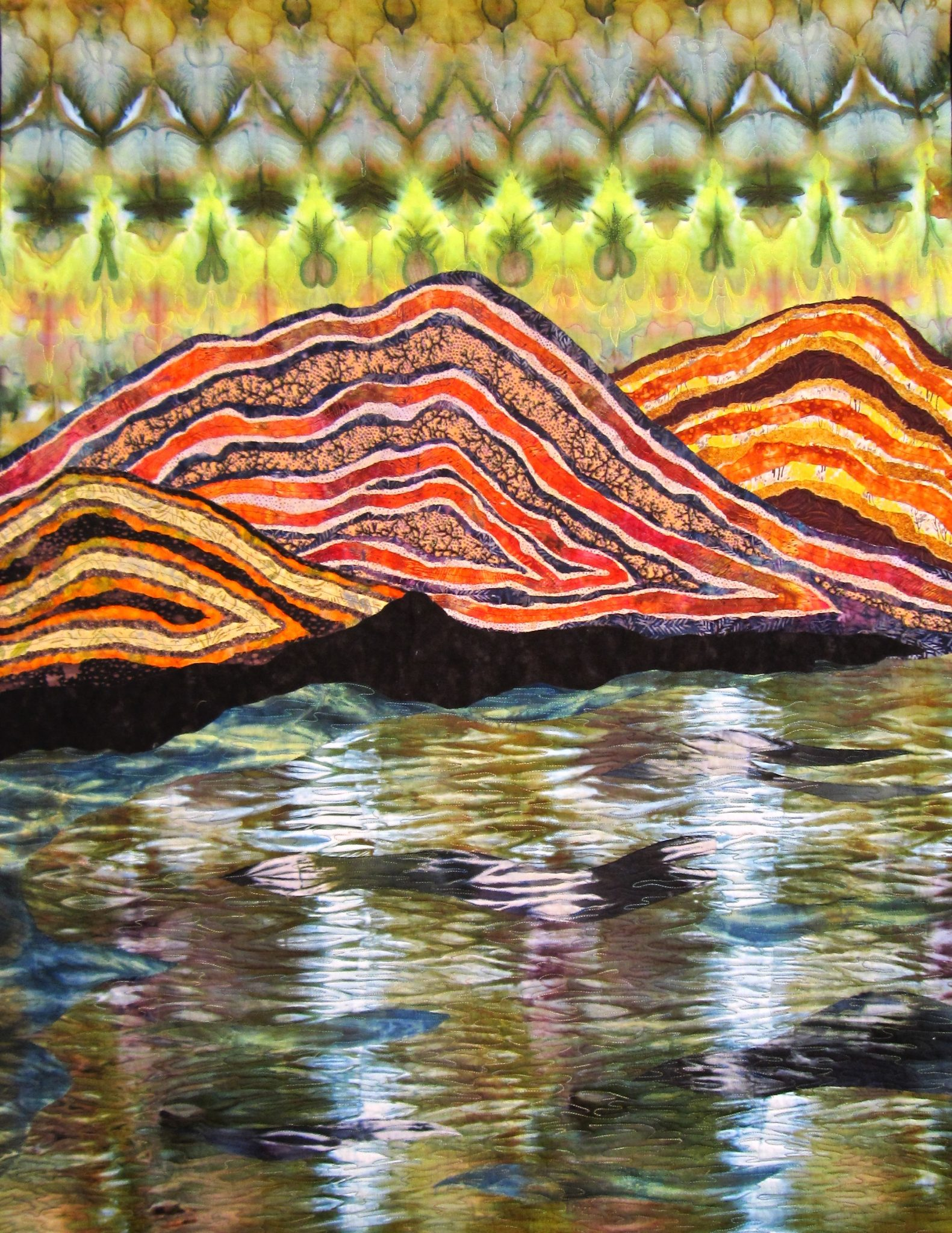 "ARTISTS' RECEPTION FOR ""QUILTING IN COASTAL MAINE"" EXHIBIT IN GALLERY"