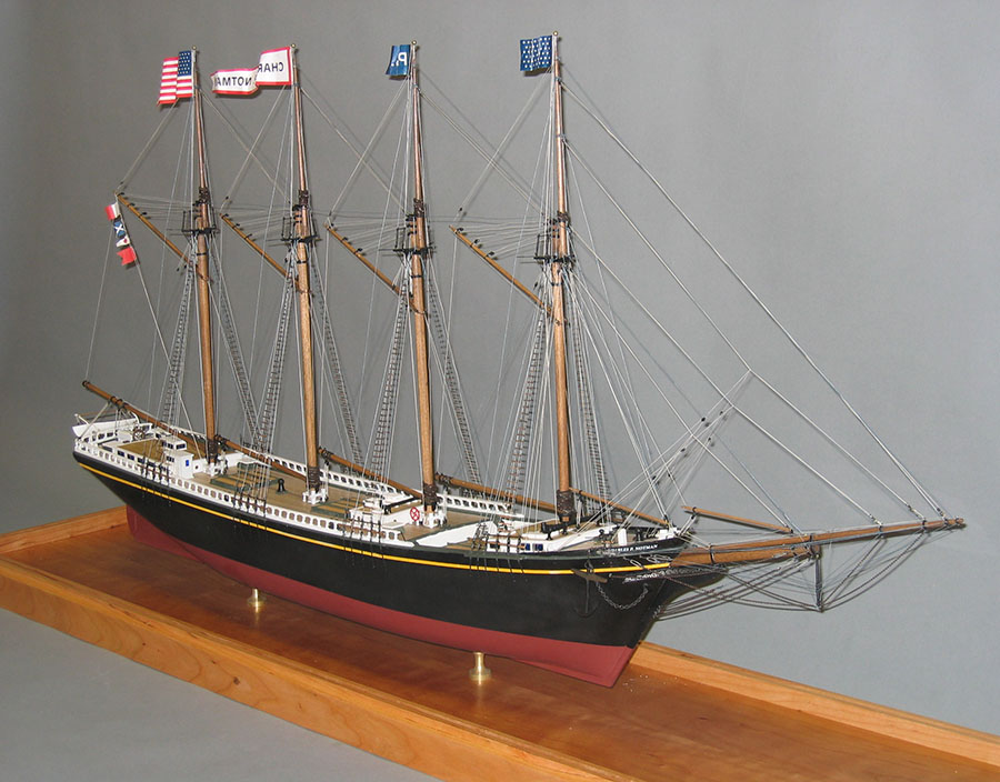 Building Model Ships | Camden Public Library