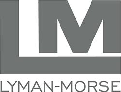 Lyman-Morse gray logo