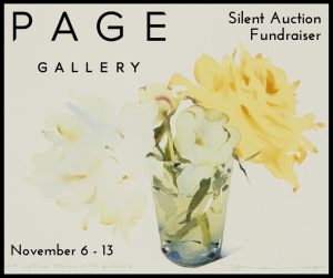 Silent Art Auction to Benefit the Library at Page Gallery