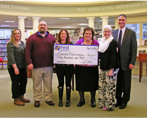 First National Bank invests $50,000 to support the Camden Public Library
