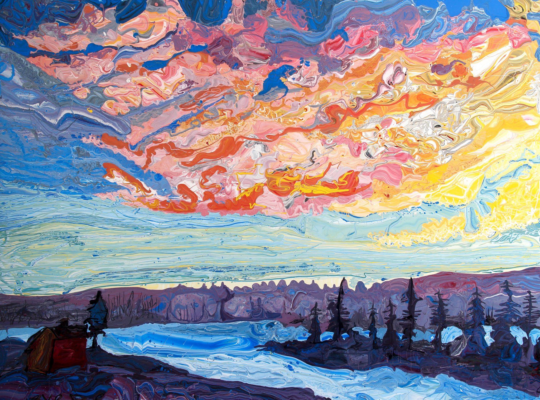 Virtual Gallery: Jon Byrer, July Artist-of-the-Month