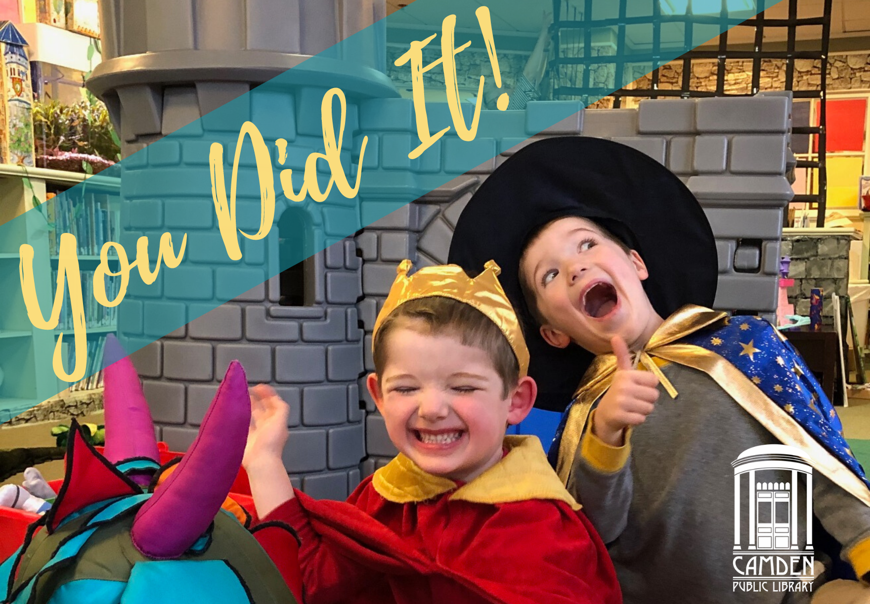 We met our goal, and you made it happen!