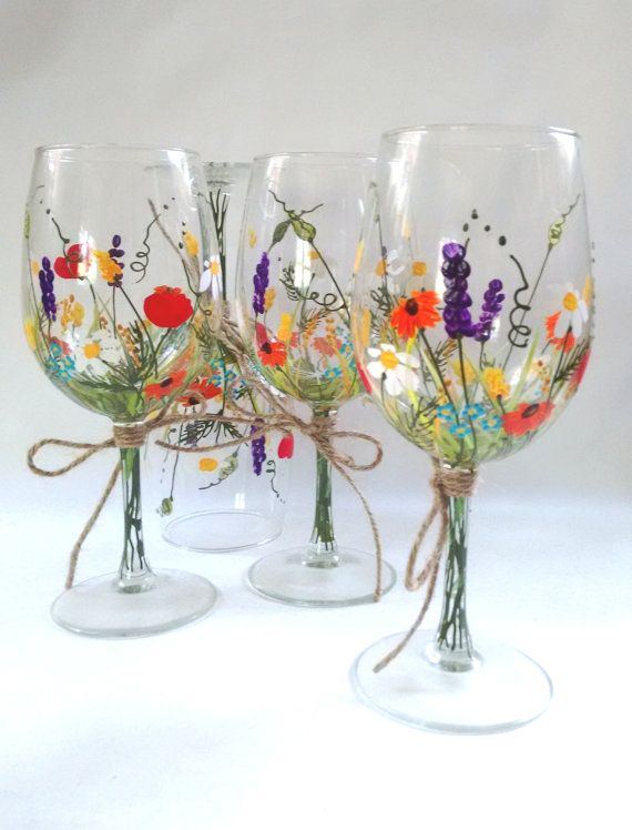 Paint Your Own Wine Glass | Camden Public Library