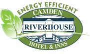 Camden Riverhouse Hotel & Inns Green and Blue logo