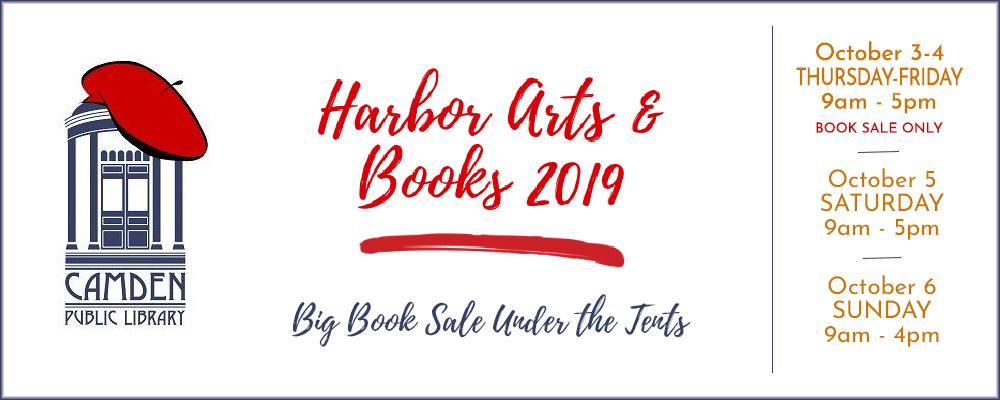 Harbor Arts & Books Fall Banner