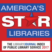 Camden Public Library is again awarded 5-Star status!