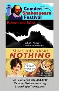 Camden Shakespeare Festival Presents: Romeo and Juliet