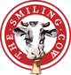 Smiling Cow red and white logo